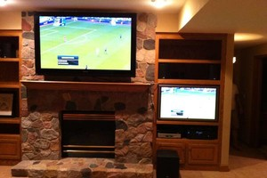 Photo #8: HOME THEATER INSTALL/TV MOUNTING/SUROUND SOUND. LOW VOLT INSTALLATION