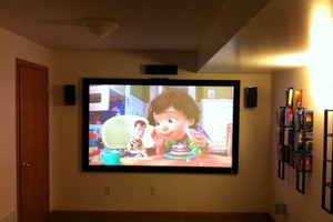 Photo #6: HOME THEATER INSTALL/TV MOUNTING/SUROUND SOUND. LOW VOLT INSTALLATION