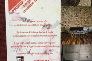 Photo #1: Bathroom remodeling/ tile installation