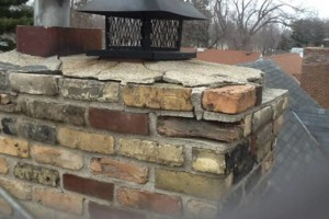 Photo #7: Masonry. Block Walls. Brick Repair. Chimney Cap. Tuckpointing