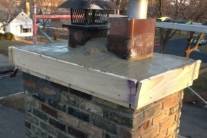 Photo #5: Masonry. Block Walls. Brick Repair. Chimney Cap. Tuckpointing