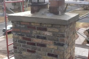 Photo #4: Masonry. Block Walls. Brick Repair. Chimney Cap. Tuckpointing