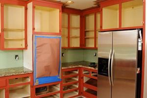 Photo #18: Kitchen Cabinet Painting