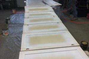 Photo #14: Kitchen Cabinet Painting