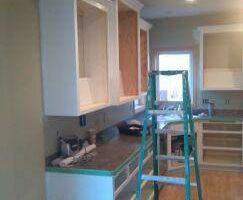 Photo #3: Kitchen Cabinet Painting