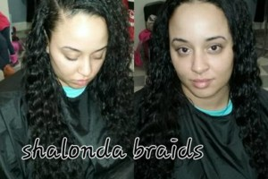 Photo #1: Crown Me! $50 Sewins & Braids