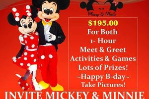 Photo #1: Mickey & Minnie & more!