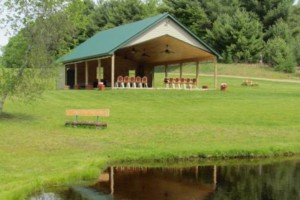 Photo #1: PAVILION RENTAL - Beautiful Place To Have A WEDDING!