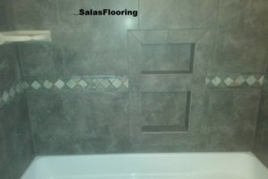 Photo #2: Salas Flooring - Tile, Vinyl Installation
