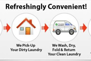 Photo #1: PICK-UP & DELIVERY LAUNDRY SERVICE