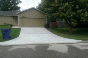 Photo #3: McGuire Flatwork & Grading (concrete and dirt work)