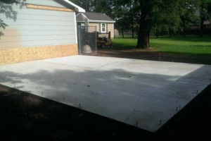 Photo #1: McGuire Flatwork & Grading (concrete and dirt work)