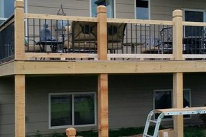 Photo #1: Fence/Deck by Bob