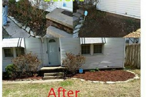 Photo #3: Lawn Care - Tree Trimming - Fence Repair - Property Maintenance - Mowing
