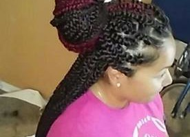 Photo #8: HAIR! Quick Weaves, Ponytail updos...