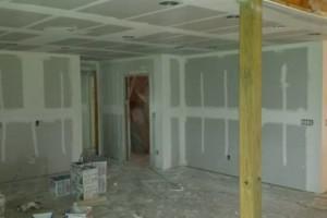 Photo #3: Hanging finishing and spraying drywall