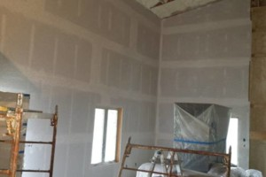 Photo #2: Hanging finishing and spraying drywall