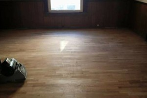 Photo #3: Hardwood installer. Refinishing floors