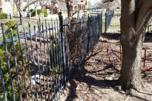 Photo #4: Gary Walker LLC. Wrought iron fence restoration