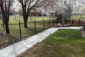 Photo #1: Gary Walker LLC. Wrought iron fence restoration
