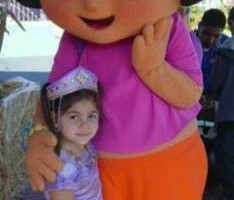 Photo #1: DORA THE EXPLORER COSTUME RENTAL !!!
