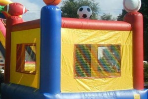 Photo #7: Bounce houses, mook walks, wedding tents, chairs.... Coco Pongo