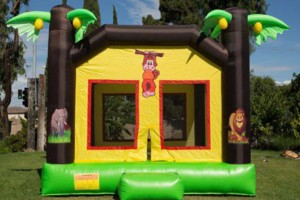 Photo #4: Bounce houses, mook walks, wedding tents, chairs.... Coco Pongo