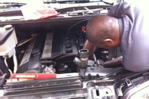 Photo #1: K&M Auto mobile service/ body repair shop