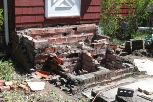 Photo #3: Ron's Masonry Restoration. Foundation Repair, Basement Waterproofing...