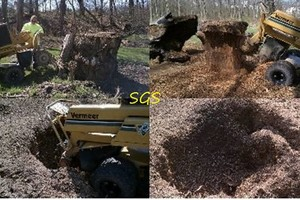 Photo #1: Stump Grinding Services. Affordable and Professional
