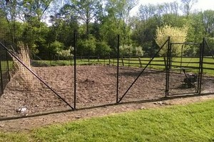 Photo #3: Deer Solutions. Fence Installer- New Deer & Garden Fence Systems
