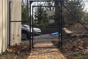 Photo #1: Deer Solutions. Fence Installer- New Deer & Garden Fence Systems