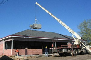 Photo #5: RELIABLE CRANE LTD. (VERY EXPERIENCED AT TREE WORK!)