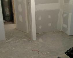 Photo #1: Drywall repairs + Ceilings! No mess/one price/one day!