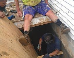 Photo #1: Dillon's Excavating & Plumbing