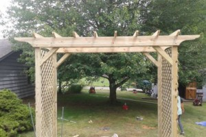 Photo #15: Carpenter for hire - decks, garages, remodels, drywall, fences...