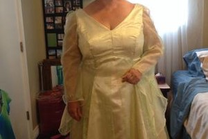 Photo #2: SEWING - bridal gowns, leather patches + upholstery