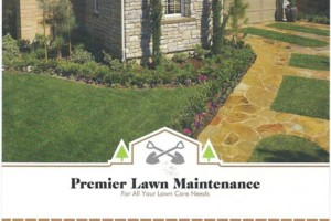 Photo #1: PREMIER LAWN MAINTENANCE for all your lawn care needs.