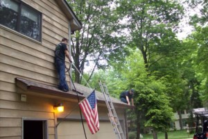 Photo #7: Accurate Services. CALL FOR GUTTER CLEANING