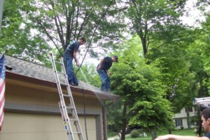 Photo #5: Accurate Services. CALL FOR GUTTER CLEANING
