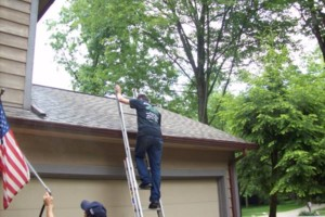 Photo #4: Accurate Services. CALL FOR GUTTER CLEANING