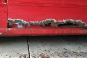 Photo #6: BEST PRICED AUTO BODY RUST REPAIRS