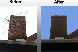 Photo #3: Roofing Repairs/–ˆ Tuckpointing - Flashing