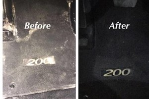 Photo #2: Elegant Touch Auto Detailing. 40$ Carpet and floor Deep cleaned