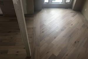 Photo #1: Installing floors - hardwood, engineer, and laminate