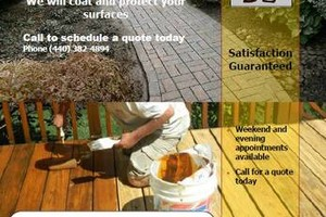 Photo #1: North East Pressure Washing / Deck Cleaning