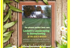 Photo #1: Lockett's Landscaping & Snow Plowing