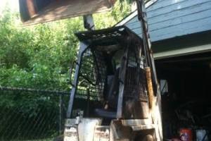 Photo #3: Bobcat Skid Steer For Hire - moving dirt, concrete, asphalt, wood