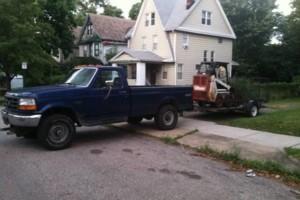 Photo #1: Bobcat Skid Steer For Hire - moving dirt, concrete, asphalt, wood