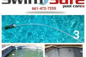 Photo #1: Swimming pool service. SwimSafe pool care